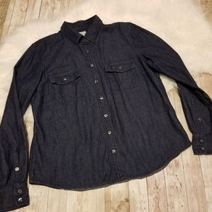 J.crew jean long sleeve button down collared shirt